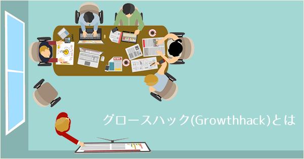 アナグラムの文化、グロースハック(Growthhack)とは?
