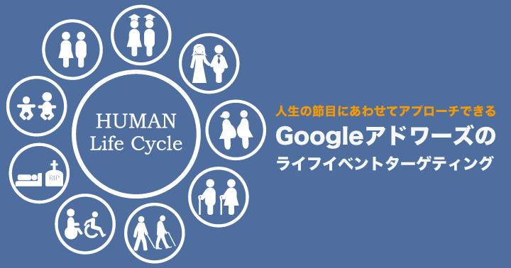 人生の節目にあわせてアプローチできる、Google アドワーズのライフイベントターゲティング